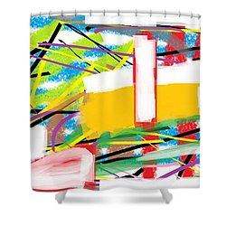 Wish - 20 Shower Curtain