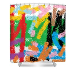 Wish - 28 Shower Curtain