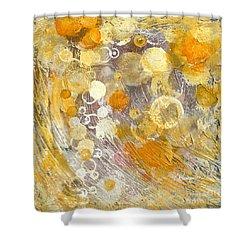 Wish Shower Curtain by Kristen Abrahamson