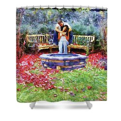 Wishing Pond Shower Curtain by Jai Johnson
