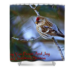 Shower Curtain featuring the photograph Wishing You Peace And Joy by Gary Hall