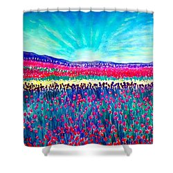 Wishing You The Sunshine Of Tomorrow Shower Curtain by Kimberlee Baxter
