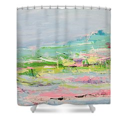 Wishing You Were Here Shower Curtain