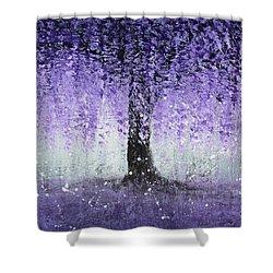 Wisteria Dream Shower Curtain by Kume Bryant