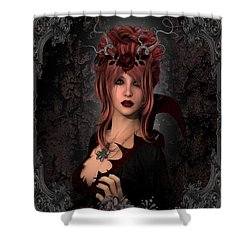 Witch Beauty Shower Curtain