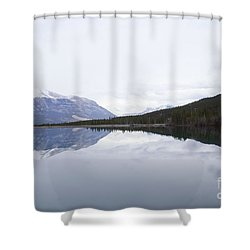 With A Clear Conscience Shower Curtain