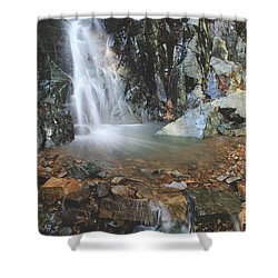 With Heart And Soul Shower Curtain by Laurie Search