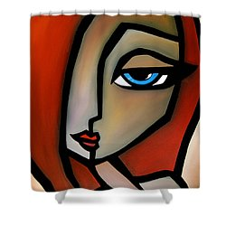 With You Shower Curtain