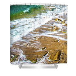 Withdrawn 2 Shower Curtain