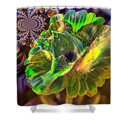 Shower Curtain featuring the photograph Within The Mind Meld by Jeff Swan