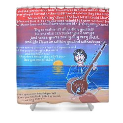 Within You Without You Shower Curtain