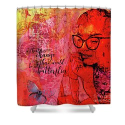 Without Change Shower Curtain
