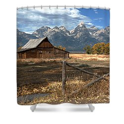 Withstanding The Test Of Time Shower Curtain