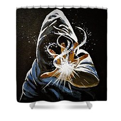 Wizardry Shower Curtain