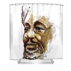 Wole Soyinka Shower Curtain