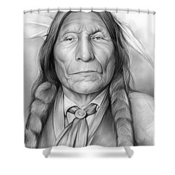 Wolf Robe Shower Curtain