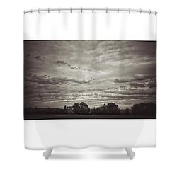 Wolken über Mir  #wolken #cloudscape Shower Curtain