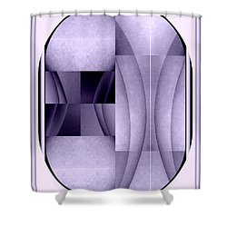 Woman Image Four Shower Curtain