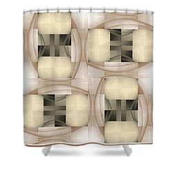 Woman Image Six Shower Curtain