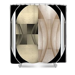 Woman Image Three Shower Curtain