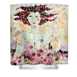 Woman Of Glory Shower Curtain