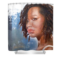 Woman Of Magdala Shower Curtain