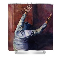 Woman Of Praise Shower Curtain