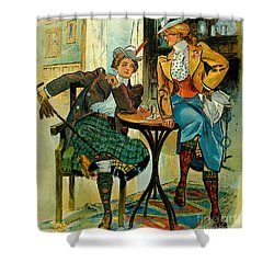 Woman's Club 1899 Shower Curtain by Padre Art