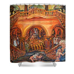 Woman's Place In Society Shower Curtain