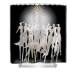 Women Chanting - Spirit Dance Shower Curtain