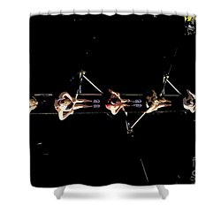 Women Rowing Shower Curtain by David Lee Thompson