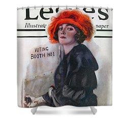 Women Voting, 1920 Shower Curtain by Granger