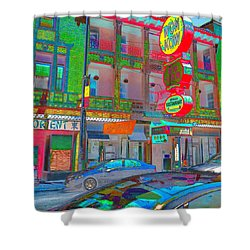Shower Curtain featuring the photograph Won Kow, Wow 2 by Marianne Dow