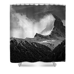 Wonder Of The Alps Shower Curtain