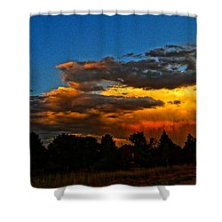Shower Curtain featuring the photograph Wonder Walk by Eric Dee