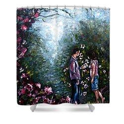 Wonderland Shower Curtain by Harsh Malik