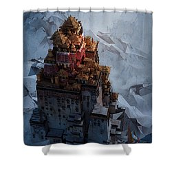 Wonders Holy Temple Shower Curtain