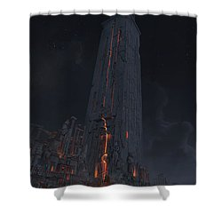 Wonders Lighthouse Of Alxendria Shower Curtain