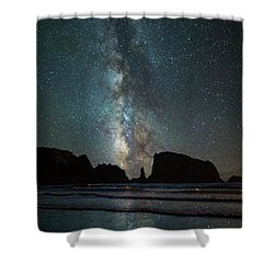 Shower Curtain featuring the photograph Wonders Of The Night by Darren White