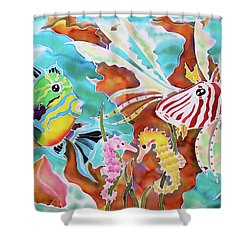 Wonders Of The Sea Shower Curtain