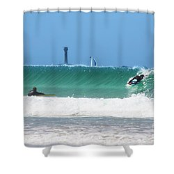 Shower Curtain featuring the photograph Wonderwall by Terri Waters