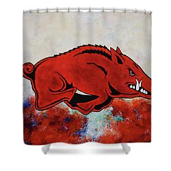 Woo Pig Sooie Shower Curtain