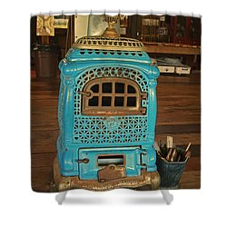 Wood Burning Heater Shower Curtain