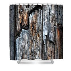 Wood Deatail Shower Curtain