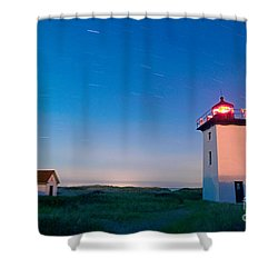 Wood End Lighthouse Provincetown Cape Cod Shower Curtain by Matt Suess
