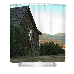 Wood House Shower Curtain