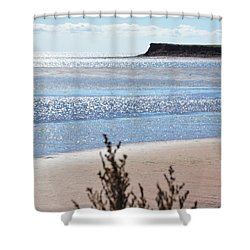 Wood Islands Beach Shower Curtain