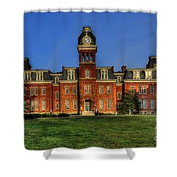 Woodburn Hall In Morning Shower Curtain