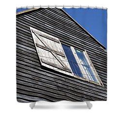 Wooden Shower Curtain