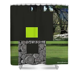 Woodland And Me Shower Curtain